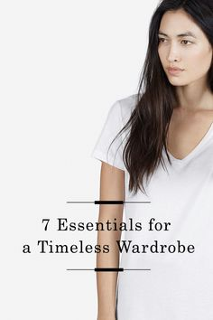 7 Essentials for a Timeless Wardrobe /
