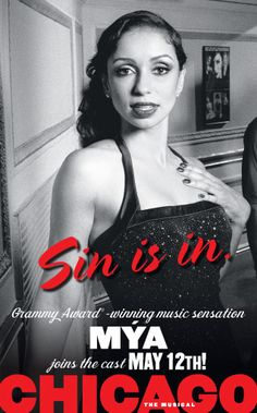 """""""Sin is in"""" MYA in CHICAGO the musical"""