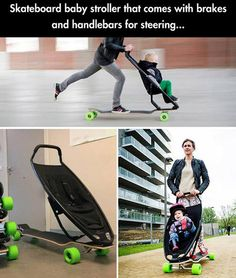 Oh, look. Bro Strider made a stroller.