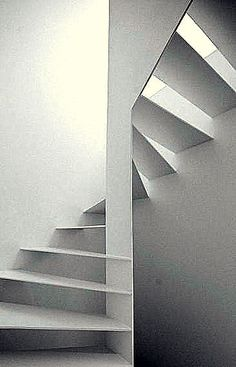 Staircase Handrail, Spiral Staircase, Stair Railing, Railings, Stair Elevator, Landscape Stairs, Loft Stairs, Steel House, Stairway To Heaven