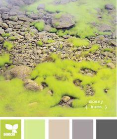 Kleuren | Mossy hues