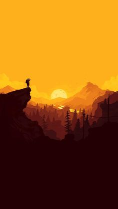 Nature sunset simple minimal illustration art android wallpaper background for android. Artistic Wallpaper, Minimal Wallpaper, Landscape Wallpaper, Scenery Wallpaper, Nature Wallpaper, Landscape Art, Wallpaper Backgrounds, Wallpaper Samsung, Fantasy Landscape