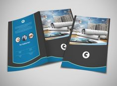 Corporate Bi Fold Brochure Template  Brochure