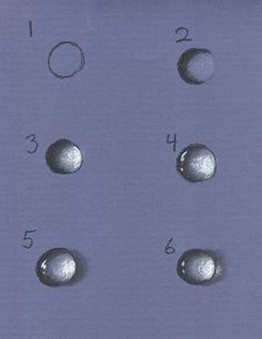 3/5 Colored pencil water droplet effects- this could come in handy
