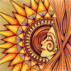 Sun: #Sun Goddess.
