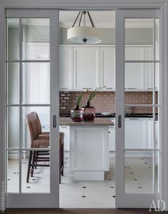 45 Best Interior Sliding Doors Design Ideas To Inspire You Home Room Design, Interior Design Kitchen, House Design, Double Doors Interior, Interior Barn Doors, Sliding Door Design, Open Plan Kitchen Living Room, Decoration Inspiration, Decor Ideas