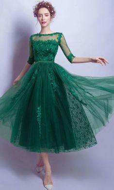 Hvordan du velger sko til grønn kjole 50+ outfits #grønnkjole #Sko