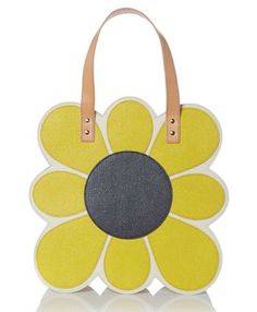 1960s-style Applique Flowers multi tote bag by Orla Kiely