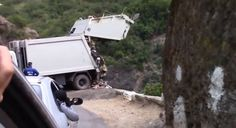 Video: Illegal dumping spoils Algerian tourist site