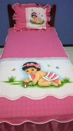 Hermoso Cochecito Edredón y conjunto de Almohada adecuado para la mayoría de carritos de bebé color crema