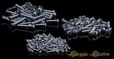 Nity aluminiowe - łeb kulisty - 2/6 mm - 1000 sztuk
