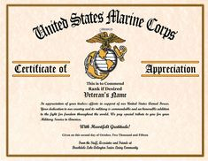 Military Certificate Of Appreciation Template Certificate Of Appreciation  Template 27 Free Word Pdf, Military Veterans Appreciation Certificates  Veterans ...
