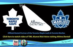 *TML Alumni Rick Vaive at Altima Dental! Click for Video: https://www.youtube.com/watch?v=kiR3WvrmLnc&feature=youtube_gdata