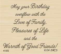 Free Birthday Verses For Cards Greetings and Poems For Friends Birthday Verses For Friends, Birthday Verses For Daughter, Funny Birthday Poems, Birthday Greetings Quotes, Birthday Verses For Cards, Birthday Quotes For Him, Birthday Card Sayings, Birthday Wishes, Free Birthday