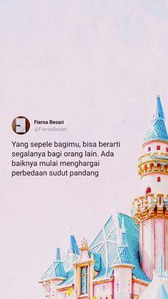 Mantab! #fiersabesari Reminder Quotes, Poem Quotes, Wall Quotes, Life Quotes, Qoutes, Hurt Quotes, Strong Quotes, Positive Quotes, Tweet Quotes