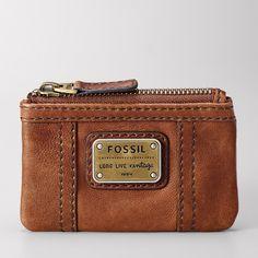 FOSSIL® Wallets Coin Wallets:Women Emory Zip Coin SL2933 handbag, coin case, coins, accessori, coin purses, fossils, zip coin, emori zip, wallet