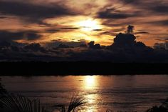 Pôr do sol - Rondônia