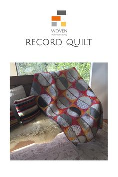 The Record Quilt made using Kaffe Fassett fabric and Art Gallery Fabric all for sale @wovenfabricgallery.ca Art Gallery Fabrics, Quilt Making, Fabric Patterns, Weaving, Quilts, Artist, Quilt Sets, Artists, Quilt