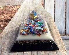 Orgonite® Orgone Pyramid Octahedron As above so below