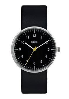 Looking for Braun Men's Analog Watch Black Face, Black Leather Band ? Check out our picks for the Braun Men's Analog Watch Black Face, Black Leather Band from the popular stores - all in one. Mens Watches Leather, Watches For Men, Wrist Watches, Popular Watches, Women's Watches, Dezeen Watch Store, Black Face Watch, Mesh Armband, Braun Design