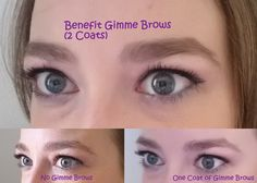 Before & After Pictures of Benefit Gimme Brows Lifestyle Blog, I Can, Brows, Kids Fashion, Eyeshadow, Parenting, Makeup, Pictures, Maquillaje
