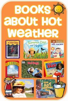 Books about Hot Weather and a freebie Clever Classroom blog