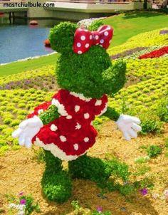 Disney Character Topiaries