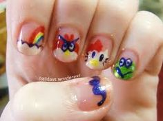 Anime nails!!^^