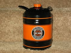 Vintage 1 Gallon Oil Can- Harley Davidson