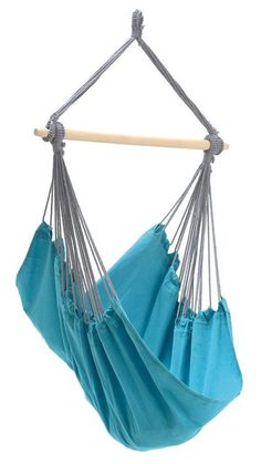 Freeport Park Juan hanging chair is a trendy hanging chair in vibrant colours. The airy, heavy piece of furniture can be hung up and taken down in no time, ensuring more time to relax. Hammock Swing Chair, Hammock Stand, Swinging Chair, Swing Chairs, Panama, Aqua, Double Hammock With Stand, Hanging Chair With Stand, Dcor Design