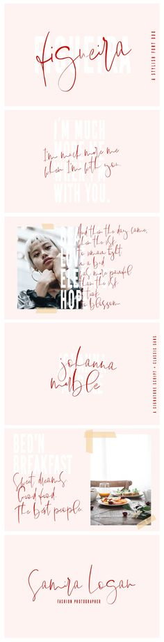 Figueira | A Stylish Font Duo by Sinikka Li on @creativemarket