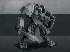 Design sketch for one of possible Battlewalker variants. Would You like to see some additional Prime Battlewalker designs? Some specific styles maybe? Should we make some other stylised walkers and accessories? Please comment, we would like to hear Your opinions.  #Prime #battlewalker #mech #design #robot #giant #knight