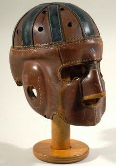 a0d38184415 Skull caps were worn in the 1920 s Football Helmet Design