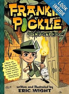 """Eric Wight writes and illustrates these hilarious books about a young boy, Frankie Picolini, with a big imagination. They are so well done (both writing and illustrations) that kids of all ages, and their teachers / parents will love reading these. Prose sprinkled with a bit of graphic novel when Frankie's """"imagination"""" takes over."""