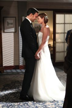 "The Mentalist Photos: ""Wedding in Red""   Grace & Wayne get married.  I love this photo  :)"