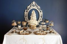 French inspired High Tea Party via Kara's Party Ideas
