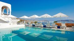 The Grace Hotel in Mykonos, Greece. I could sit by the pool & beach all day long. Ahhh!