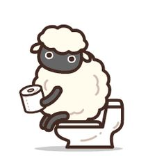 24 Funny interesting Gulu sheep WeChat emoji gifs - You Are İn The Right Place For Fun Cute Bear Drawings, Cute Cartoon Drawings, Gif Animé, Animated Gif, Gif Lindos, Pretty Gif, Funny Cartoon Gifs, Bear Gif, Naughty Emoji