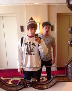 Luke and Jai Brooks from the Janoskians = Sexiest set of twins every!