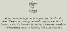 IconsCorner jornada de puertas abiertas http://www.decoracionpatriblanco.es/2015/05/iconscorner-startup.html