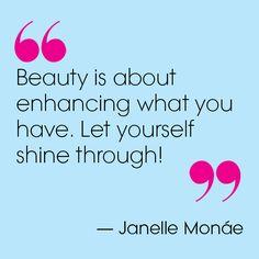 Janelle Monáe in Teen Vogue's Dec/Jan Beauty Blogger