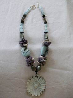 wampum necklace by IslandNaturals on Etsy, $250.00