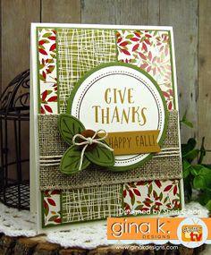 Gina K. Designs - Give Thanks