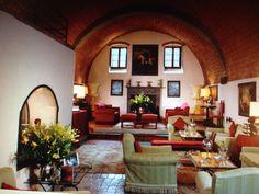 living room in Villa Collalto