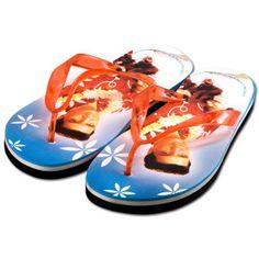b3c52709c0f22 ShopElvis.com. Blue HawaiiWomens Flip FlopsElvis ...