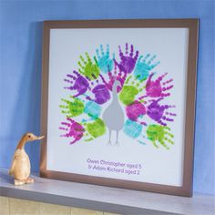 We create works of art from your family's hand and footprints. We send you our inkless printing pack which contains wipes and coated paper, so you . Kids Prints, Art Prints, Fun Crafts, Crafts For Kids, Fingerprint Art, Footprint Crafts, Handprint Art, Hand Art, Thanksgiving Crafts
