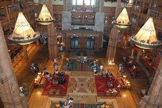 Disney Resorts -- Wilderness Lodge  one of my favorite places to stay!
