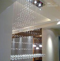 Linear crystal chandelier likes pinterest aloadofball Choice Image