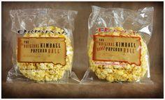 The Original Kimball Pop!corn ball...from the Fatland Family
