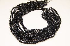 1strand  natural blue tiger's eye plain ball sized 6mm by 3yes